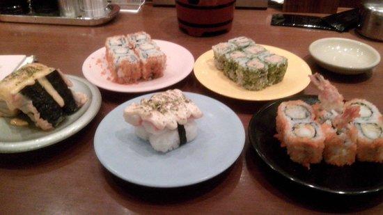 Sushi Tei Senayan City: Sushi tei