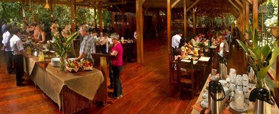 Refugio Amazonas: Dining Room