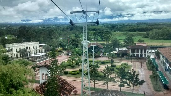 Parque del Café: Centro del parque