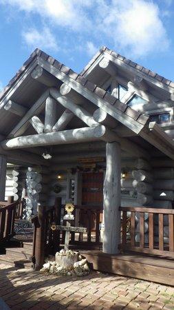 Buffalo Rock Lodge: Front entry