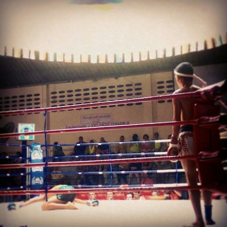Patong Boxing Stadium: Young fight