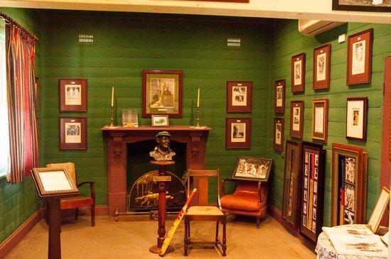 Sir Donald Bradman Birthplace Museum: Trophy Room