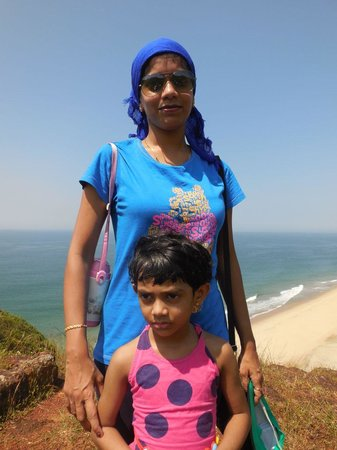Maachli Homestay: Kile Nivati view