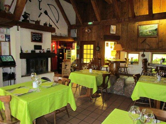 Restaurant Waldstebel : Vue du restaurant