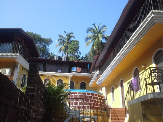 Castle House Palolem South Goa : castle house palolem