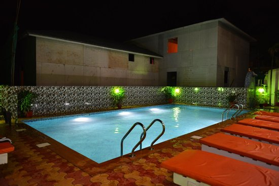 OYO 5242 Zinho's: The newly constructed beautiful swimming pool !!