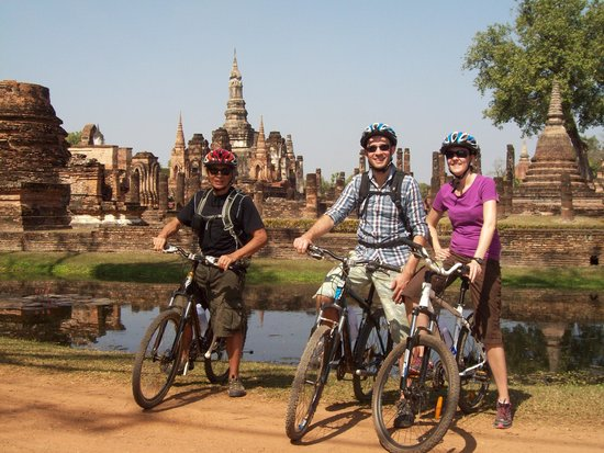 ‪Cycling Sukhothai Bicycle Tour Thailand‬
