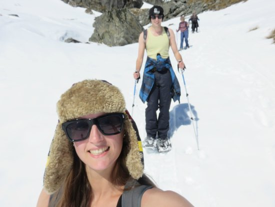 Guided Walks New Zealand - Day Tours: on the way down