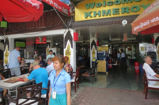 Khmeroyal Hotel: Restaurant