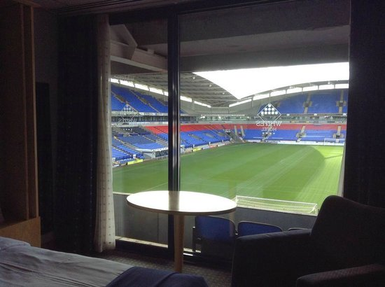 Bolton Whites Hotel: view from my room