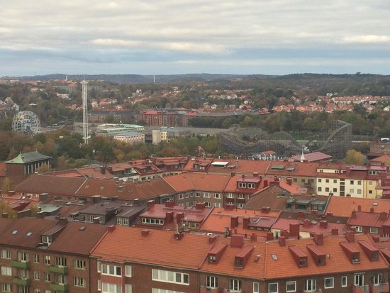 Quality Hotel Panorama: View from top floor