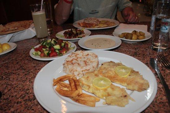 El Hussein Restaurant: e secondo voi, queste non sono vere leccornie???