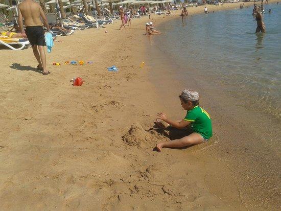 Hilton Hurghada Resort: пляж
