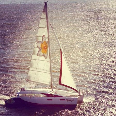 Creole Travel Services: The Catamaran 'Oplezir'