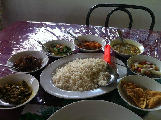 Globetrotter Tourist Inn: My lunch