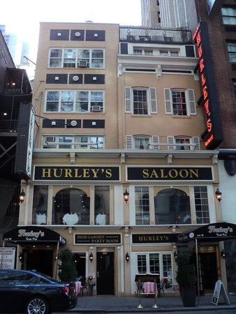 Hurley's Saloon: экстерьер паба