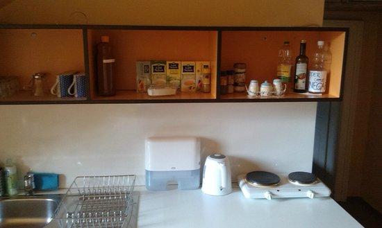 Vila Veselova : The Blue room has a kitchen