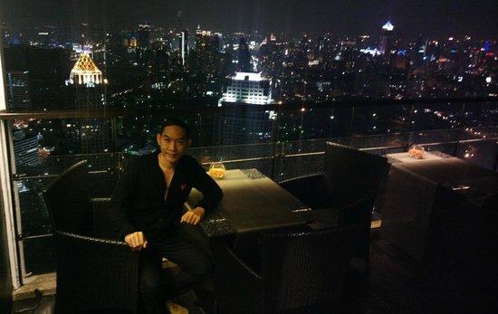 Banyan Tree Bangkok : vertigo ชั้น 62 บรรยากาศดีทัศนีย์ภาพสวย เห็นวิวได้360องศา