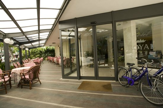 Hotel Royal : Entrata