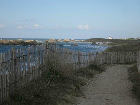La Terre du Pont : Am Strand nahe Brignogan-Plages