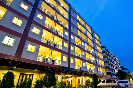 Golden Sea Pattaya Hotel: Hotel Building