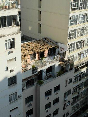 Windsor Copa Hotel: Вид с балкончика на 12 этаже