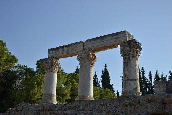 Archaeological Museum of Corinth: Великолепные колонны