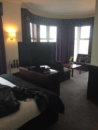 The Grand Hotel: Best room 110!