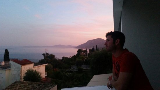 Alexandros: sunset in October
