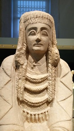 Museo Arqueologico Nacional: Dama iberica