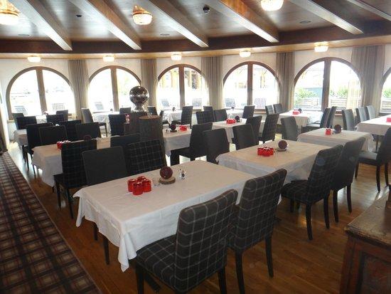 Hotel Silvretta: ресторан