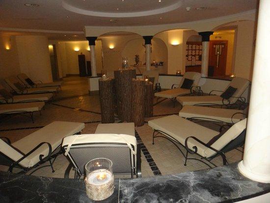 Hotel Silvretta: баня