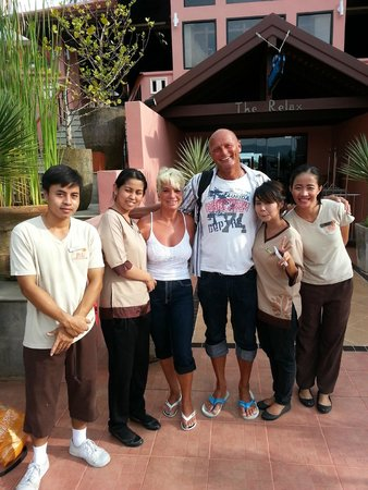 Patong Ocean Sea View Resort: Hilfsbereite und immer freundliche Hotelcrew