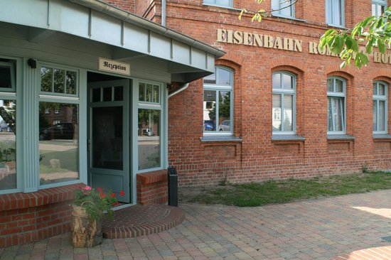 Meyenburg, Alemania: Hoteleingang