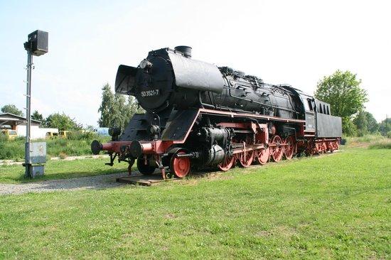 Meyenburg, Germany: Die Dampflok der BR 50