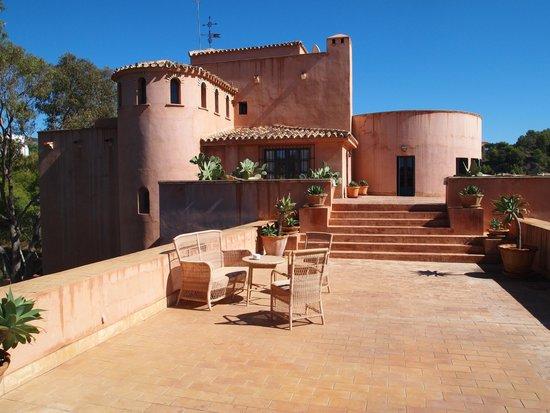 Hotel Castillo de Santa Catalina: Terrazza dell'hotel