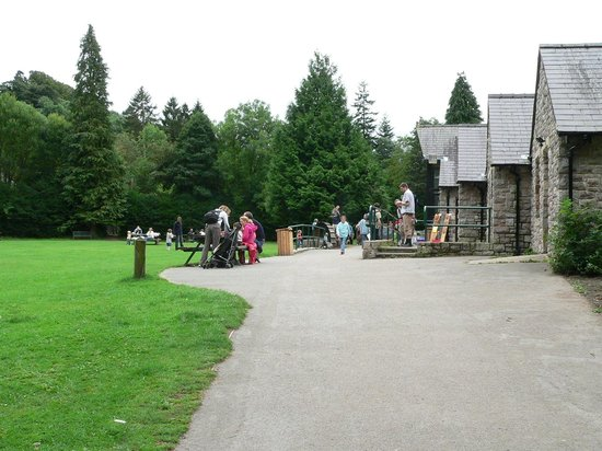 Loggerheads Country Park: Information centre & cafe