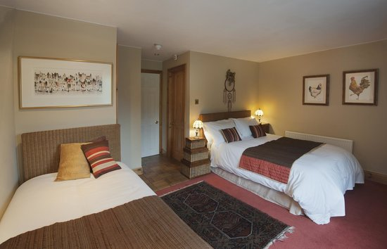 The Travellers Rest: Gold En suite Bedroom