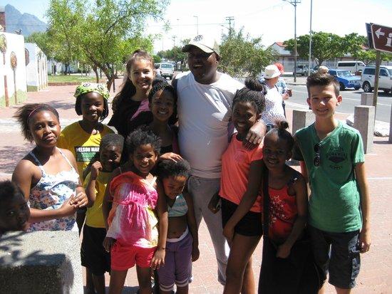 Siviwe Township Tours: Gruppenfoto in Langa