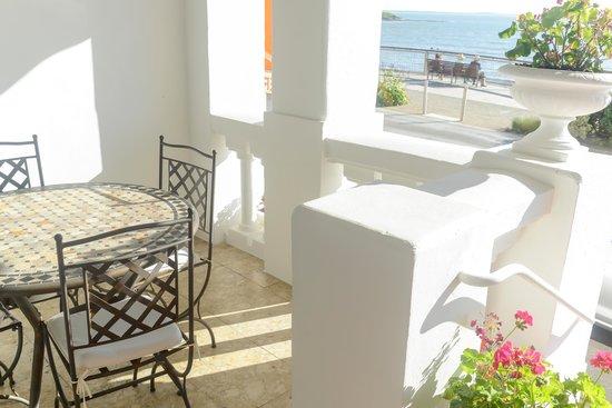 grand h tel de la plage royan chambre twin vue mer. Black Bedroom Furniture Sets. Home Design Ideas