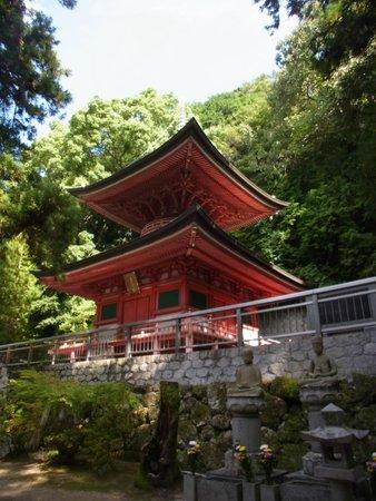 Yakuriji Temple: 多宝塔