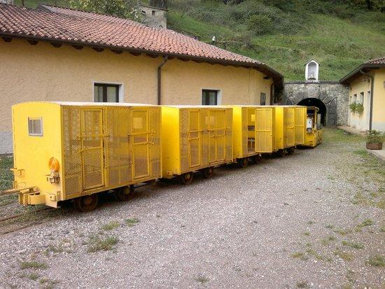 Miniera di Pezzazze: Trenino