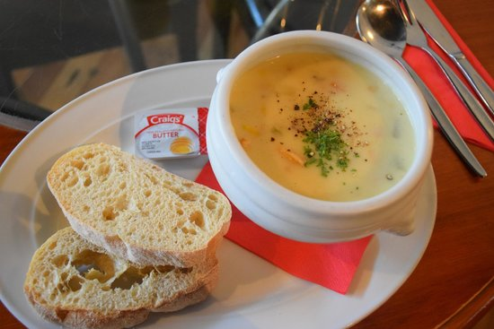 The Reef Steak And Seafood Restaurant Chowder