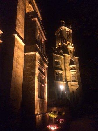Schloss Eckberg : Photo extérieure du Restaurant depuis les jardins