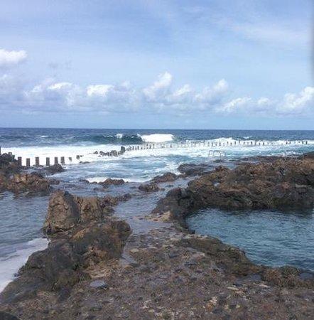 Hotel El Cabo: natural swimming pools