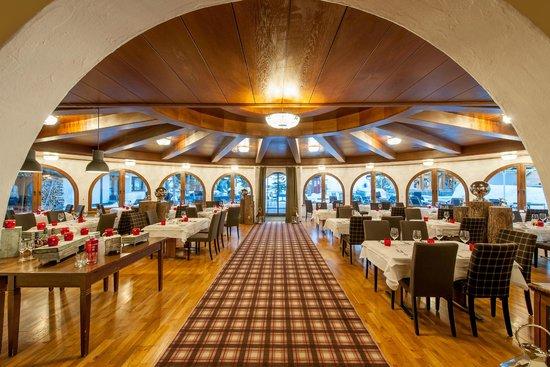 Hotel Silvretta: Speisesaal