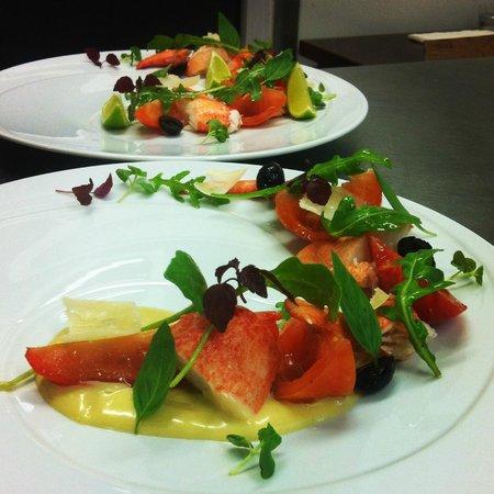 La Bonne Auberge: salade de homard