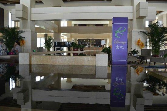 Holiday Inn Resort Beijing Yanqing : Lobby, bar and checkin area