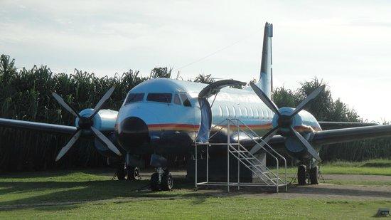 Catalina Grill : 中を見学できる飛行機