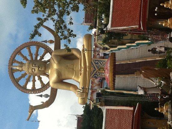 Samui Best View Resort: big bhudda